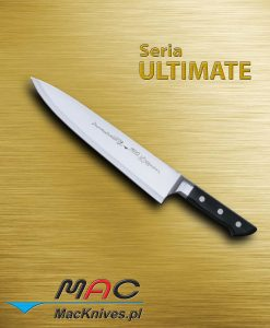 Chef Knife – nóż szefa kuchni. Klasyczny nóż kuchenny francuski do wszechstronnego użytku. Ostrze 265 mm