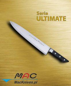 Chef Knife – nóż szefa kuchni. Klasyczny nóż francuski do wszechstronnego użytku. Ostrze 320 mm.