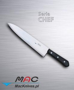 Chef Knife – nóż szefa kuchni. Ostrze 255 mm Dobrze wyważony nóż francuski do wszechstronnego wykorzystania.