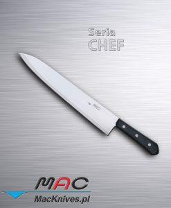 Chef Knife – nóż szefa kuchni. Ostrze 310 mm Dobrze wyważony nóż francuski do wszechstronnego użytku.