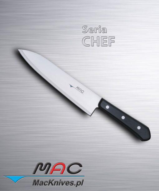 Chef Knife – nóż szefa kuchni. Ostrze 210 mm Dobrze wyważony nóż francuski do wszechstronnego wykorzystania.