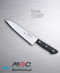 Chef Knife – nóż szefa kuchni. Ostrze 180 mm Lekki i ostry nóż szefa kuchni do wszechstronnego wykorzystania.