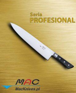 Chef Knife – nóż szefa kuchni. Ostrze 275 mm Nóż szefa kuchni do wszechstronnego wykorzystania.