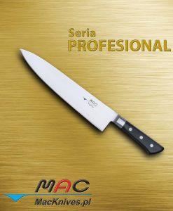 Chef Knife – nóż szefa kuchni. Ostrze 250 mm Nóż szefa kuchni do wszechstronnego wykorzystania.