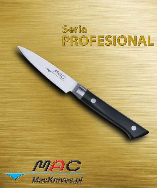 Paring Knife – nóż do obierania. Ostrze 80 mm Spiczasty ostry nóż do zdzierania i obierania. Wygodny w użyciu.