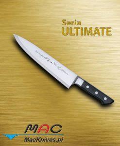 Chef Knife – nóż szefa kuchni. Klasyczny nóż francuski do wszechstronnego użytku. Ostrze 235 mm
