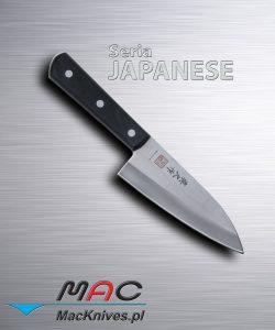 Japanese Deba Cleaver Knife – japoński tasak Deba. Ciężki tasak do cięcia ryb i kości. Ostrze 140 mm.