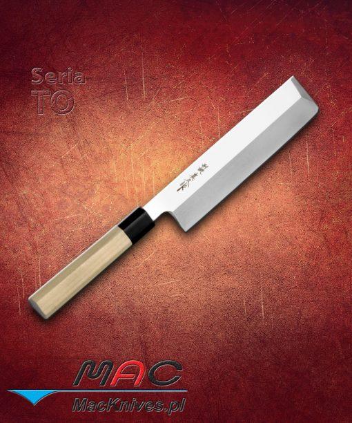 Nóż Kakugata Usuba. Nóż do warzyw o prostokątnym czubku. Ostrze 225 mm