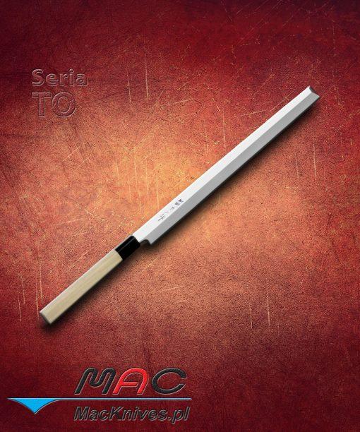 Nóż kuchenny Takobiki. Nóż do krojenia o prostokątnym czubku (idealny do krojenia ośmiornic) Ostrze 300 mm