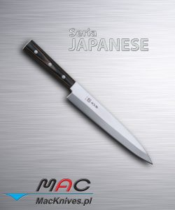 Sashimi Knife – nóż do sashimi. Nóż do filetowania i krojenia ryb. Ostrze 225 mm