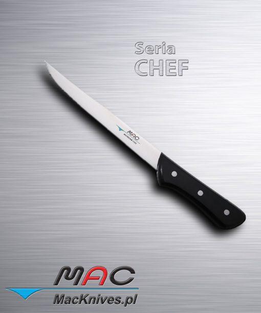 Fishing Fillet Knife – nóż kuchenny do filetowania. Ostrze 200 mm Cienki i bardzo ostry nóż do ryb z laminowanym drewnianym uchwytem. Idealny do usuwania kości z drobiu jak również mięs.