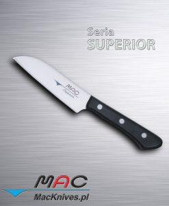 Kuchenny nóż do obierania Santoku. Ostrze 100 mm.