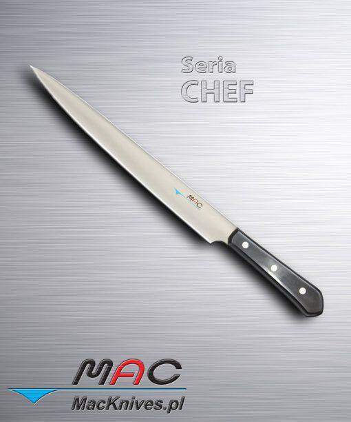 Slicer – nóż do krojenia i filetowania. Ostrze 285 mm Elastyczny nóż kuchenny o długim ostrzu do krojenia, filetowania ryb i wędlin.